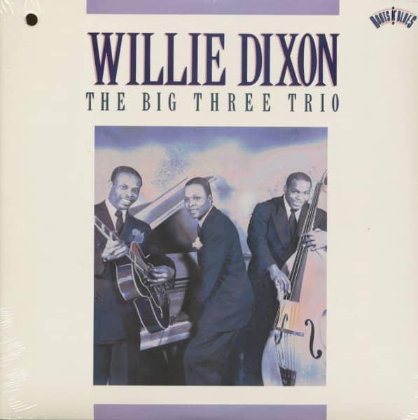 The Big Three Trio (LP, Cut-out)