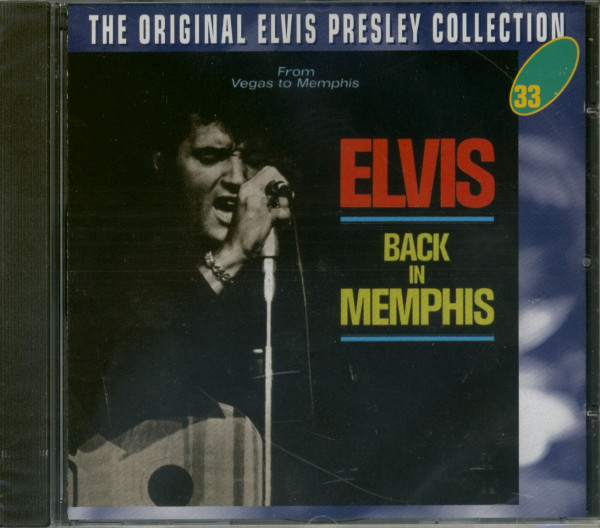 Back In Memphis - The Original Collection #33 (CD)