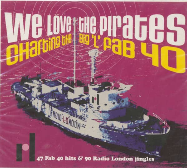 We Love The Pirates - Charting The Big...2-CD