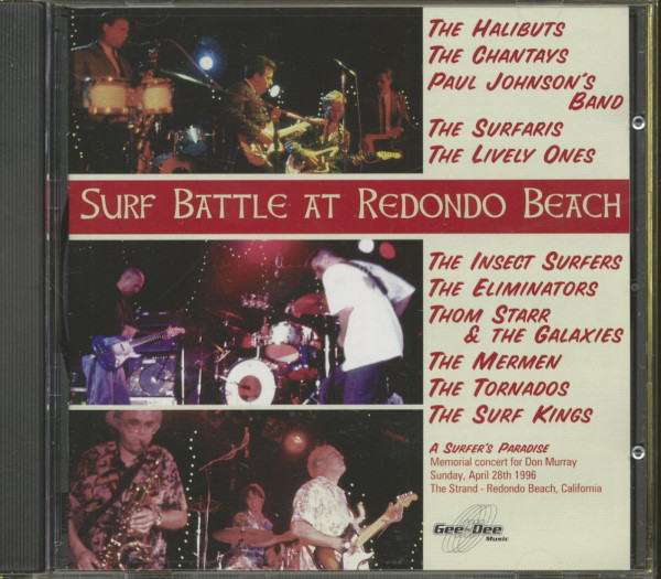 Surf Battle At Redondo Beach (CD)
