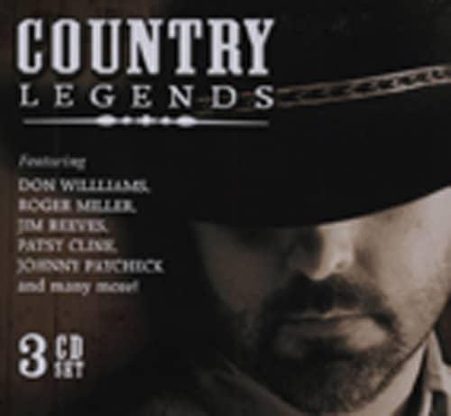Country Legends (3-CD) Tincan - Blechdose