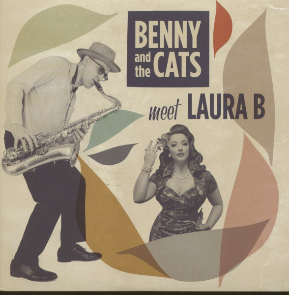 Benny And The Cats Meet Laura B (45rpm, 7inch, PS)