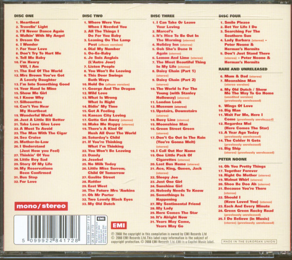 Herman's Hermits & Peter Noone - Into Something Good - The Micky Most Years 1964-72 (4-CD)