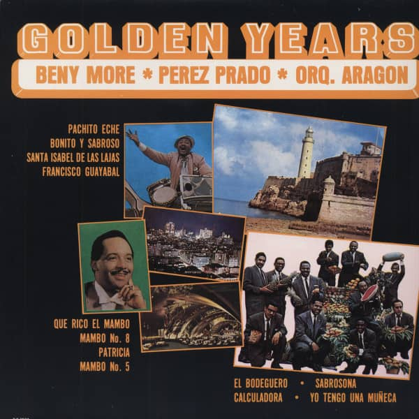 Golden Years - Beny More - Perez Prado (Vinyl-LP)