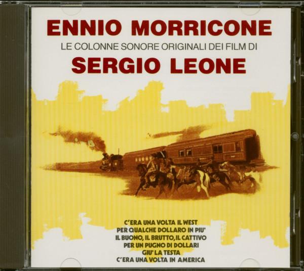 Le Colonne Sonore Originali Dei Film Di Sergio Leone (CD)