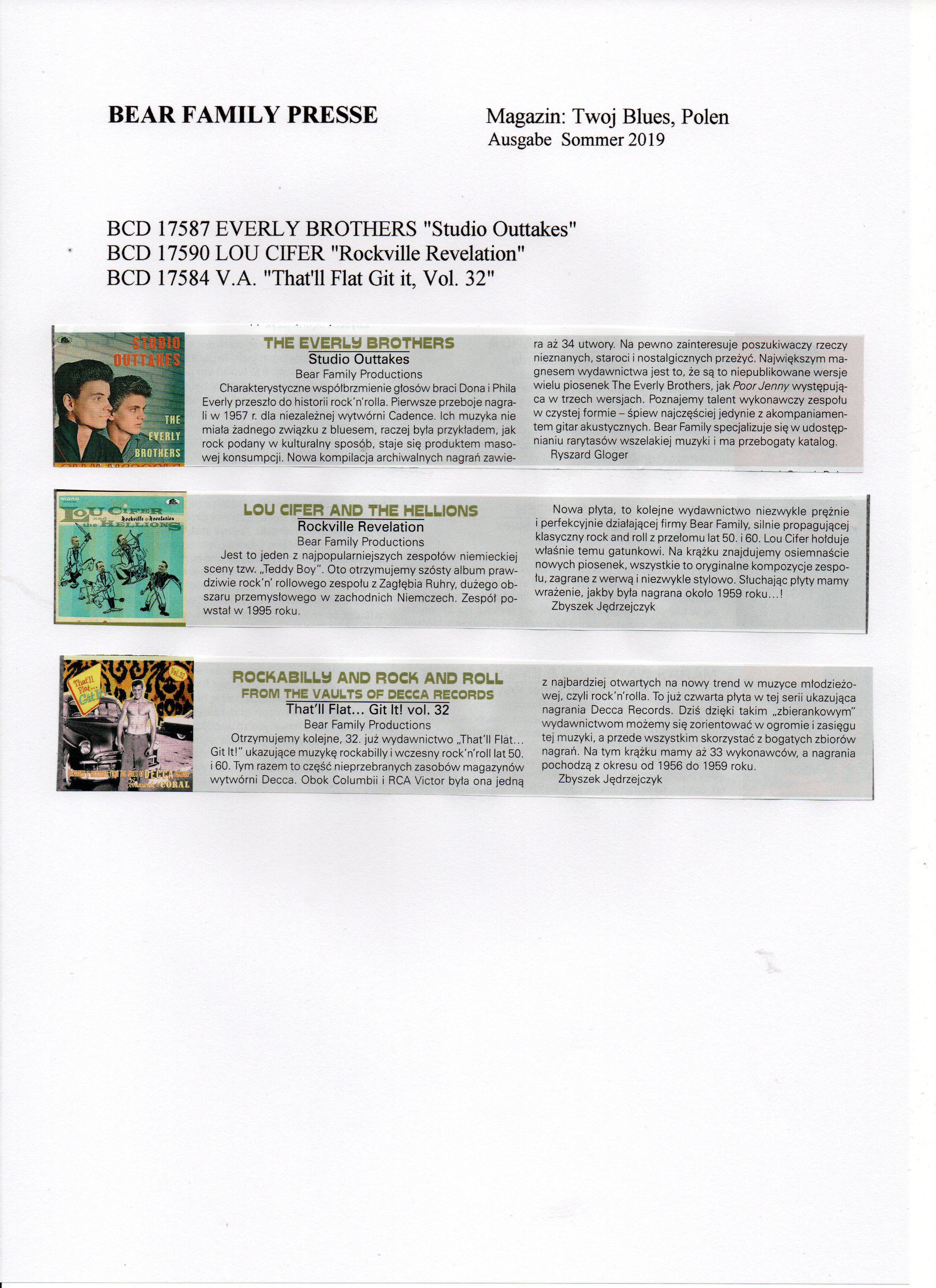 Press Archive Lou Cifer Amp The Hellions Rockville