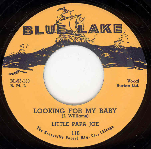 Looking For My Baby b-w Easy Lovin' 7inch, 45rpm
