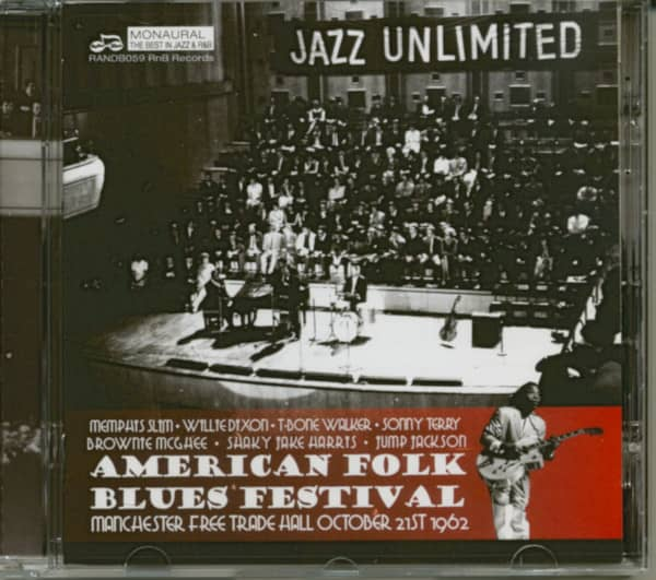 American Folk Blues Festival Live In Manchester 1962 (CD)