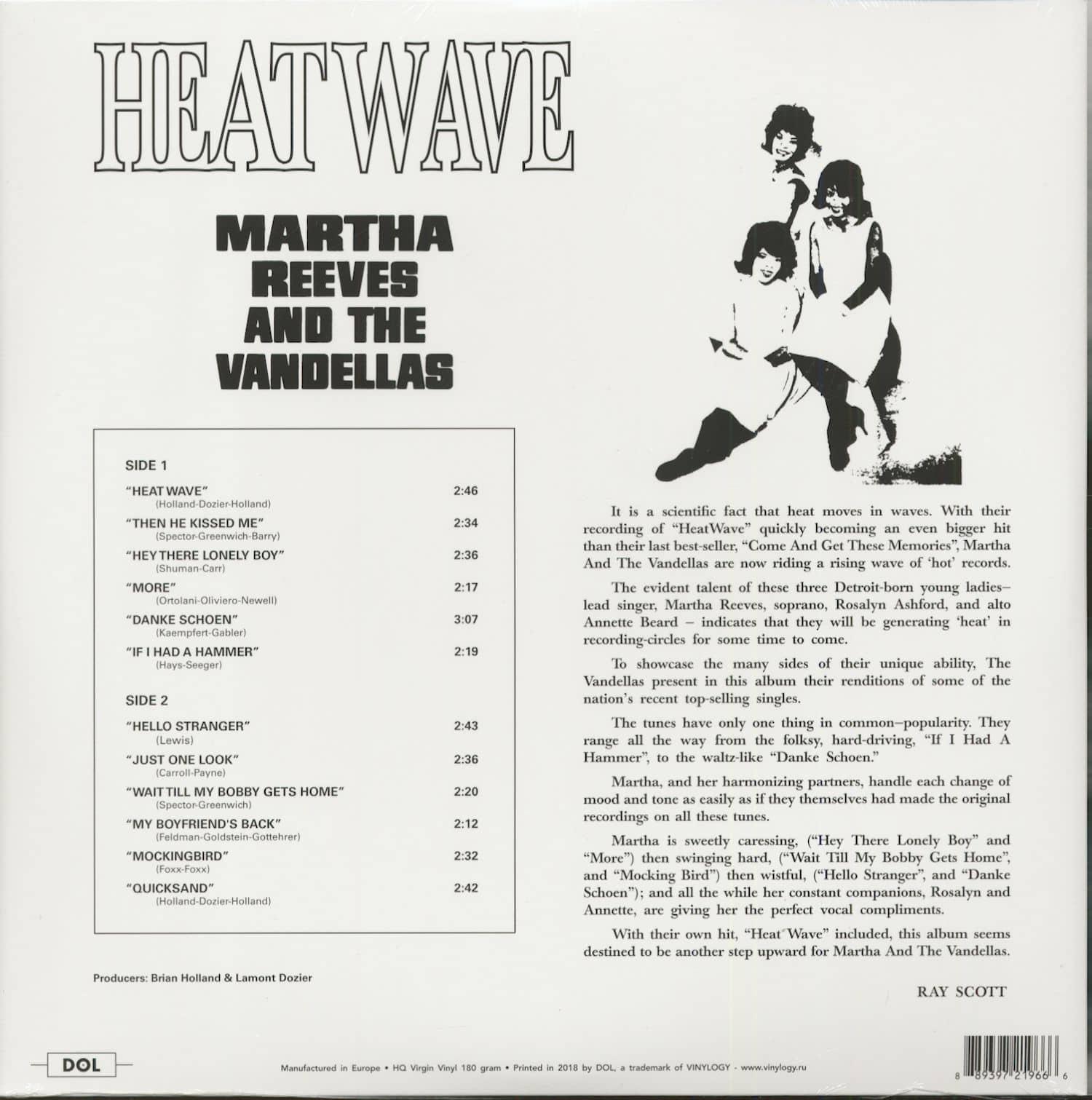 heatwave vandellas and martha the