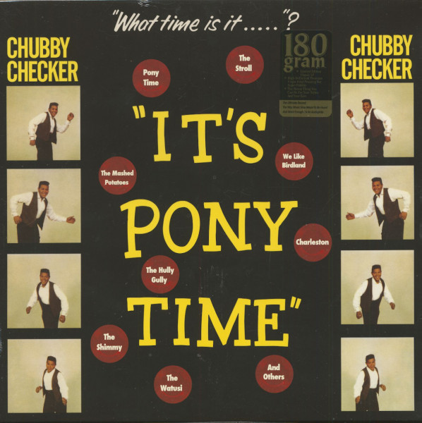 It's Pony Tiime (LP, 180g Vinyl)