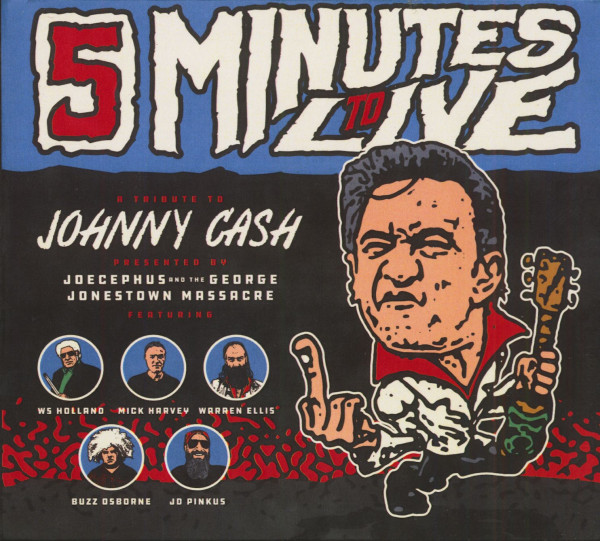Five Minutes To Live - A Tribute To Johnny Cash EP (CD, EP)