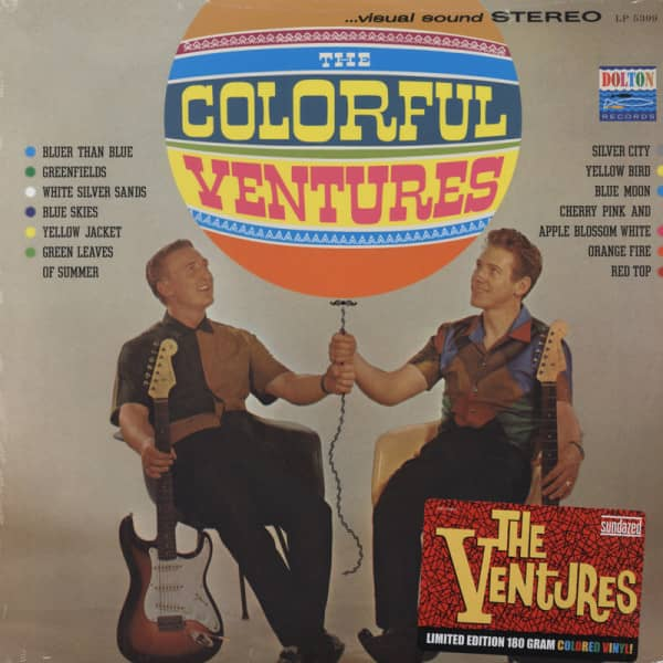 Colorful Ventures (1961) 180g Limited Edition
