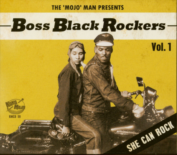 Boss Black Rockers Vol.1 - She Can Rock (CD)