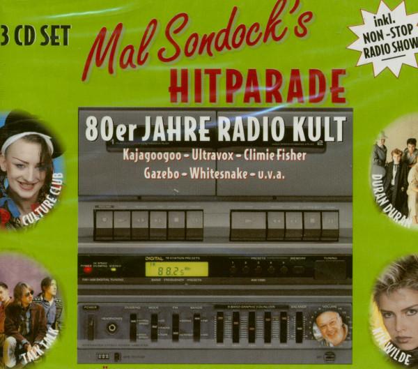 Mal Sandock's Hitparade - 80er 3-CD