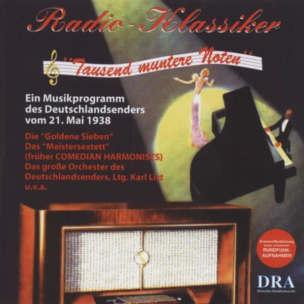 Radio Klassiker - Tausend muntere Noten (CD)
