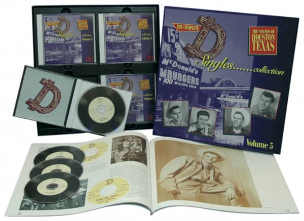 Vol.5, The Sounds Of Houston Texas (4-CD Deluxe Box Set)