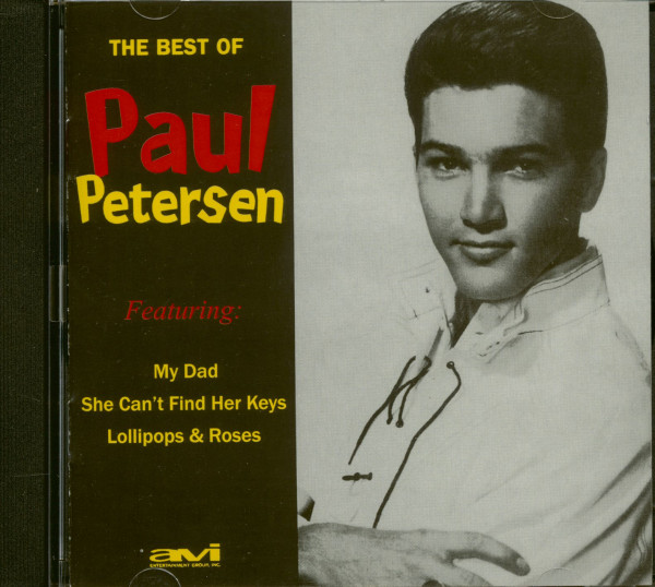 The Best Of Paul Petersen (CD)