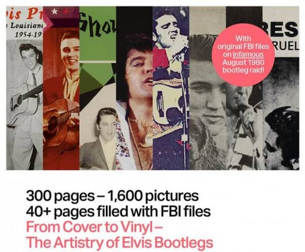 From Cover to Vinyl – The Artistry of Elvis Bootlegs Vol.1