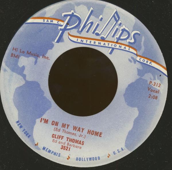 I'm On My Way Home - Treat Me Right (7inch, 45rpm)