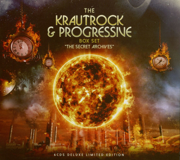 The Krautrock & Progressive Box Set - The Secret Archives (3-CD)