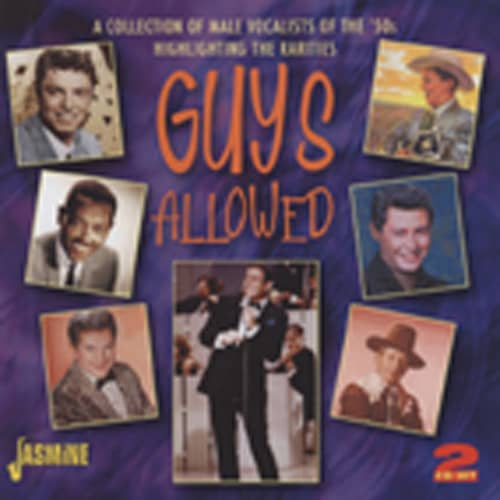 Guys Allowed (1950s Male Vocal Rarities) 2-CD