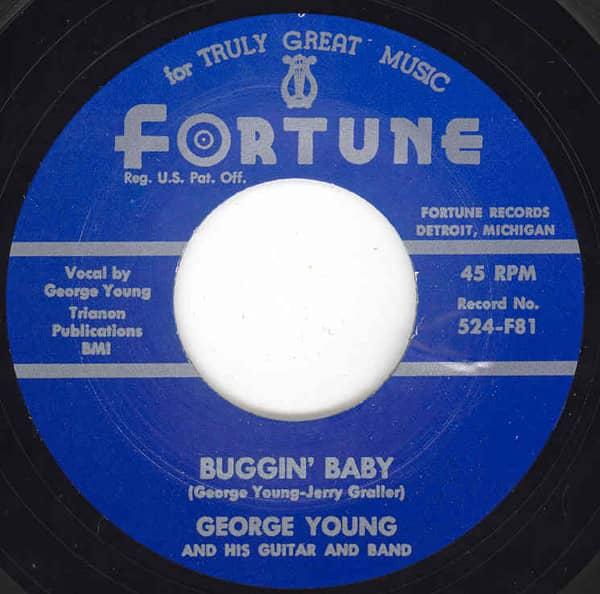 Buggin' Baby - Shaking Shelley 7inch, 45rpm