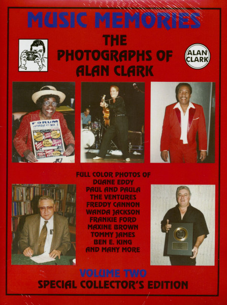 Music Memories - Music Memories - Vol.2 The Photographs Of Alan Clark