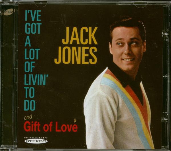 I've Got A Lot Of Livin' To Do - Gift Of Love (CD)