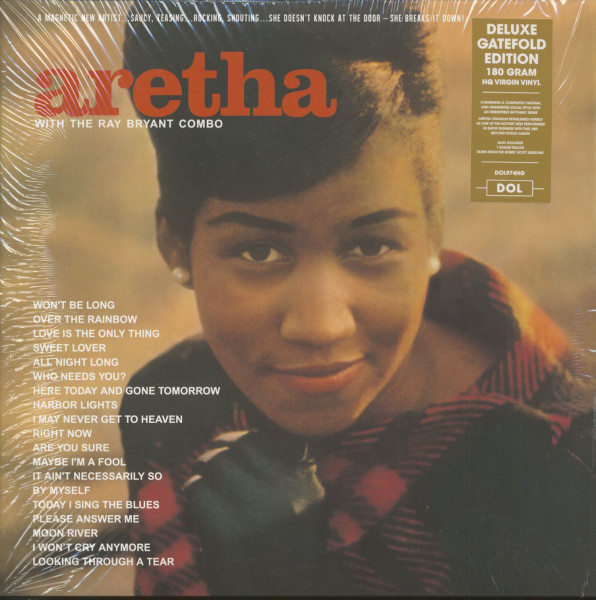 Aretha With The Ray Bryant Combo (LP, 180g Vinyl)