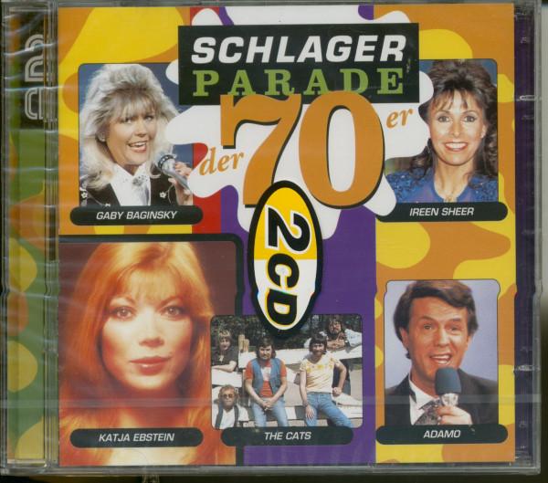 Schlagerparade der 70er 2-CD