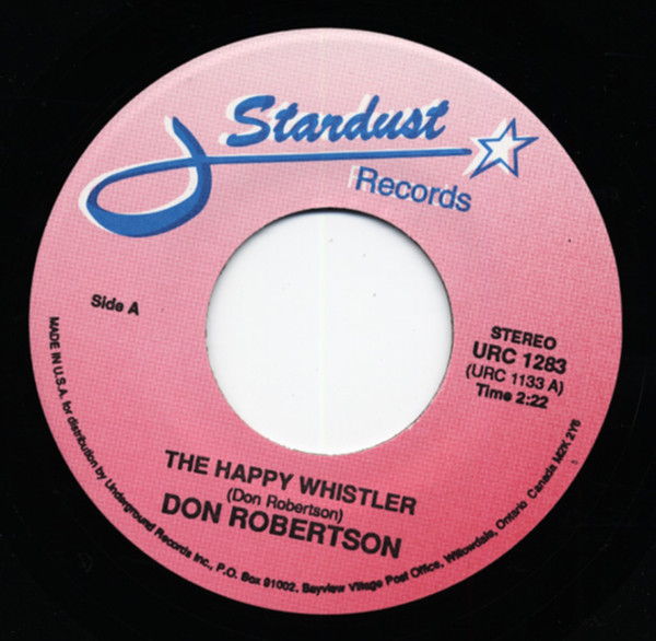 The Happy Whistler b-w Petite Fleur 7inch, 45rpm