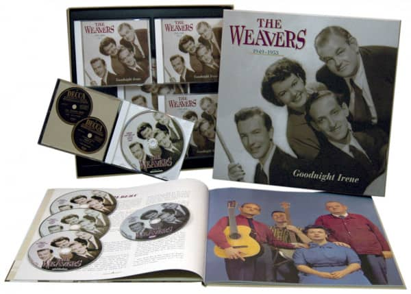 Goodnight Irene, 1949-1953 (4-CD & 1-DVD Deluxe Box Set)