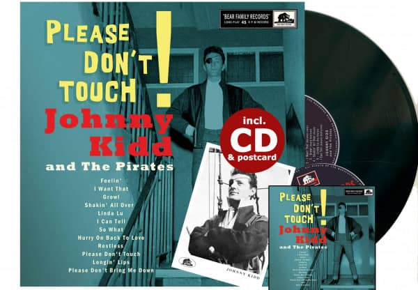 Please Don't Touch! (LP & CD, 10inch, 45rpm)