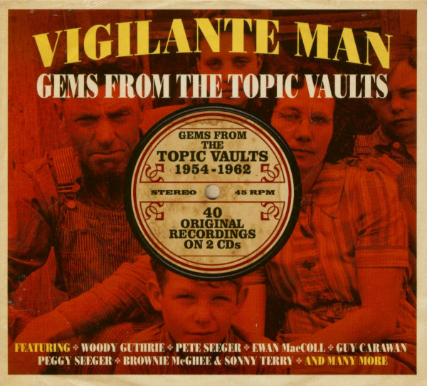 Vigilante Man - Gems From The Topic Vaults (2-CD)