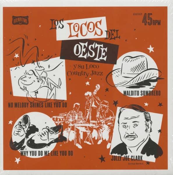 Los Locos Del Este Y Sus Loco Country Jazz (7inch, 45rpm, EP)