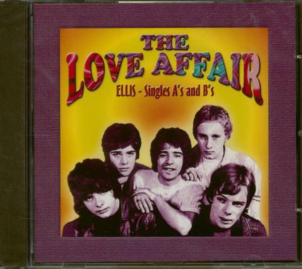 The Love Affair / Ellis - Singles A's and B's (CD)