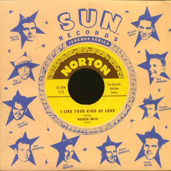 Sun Records Jukebox Series - Warren Smith & Mack Vickery (7inch, 45rpm)