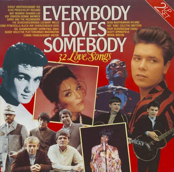 Everybody Loves Somebody - 32 Love Songs (2-LP)