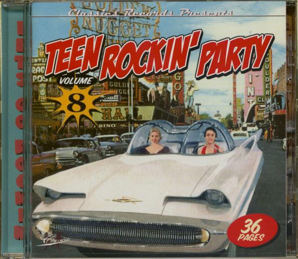 Teen Rockin' Party Vol.8 (CD)