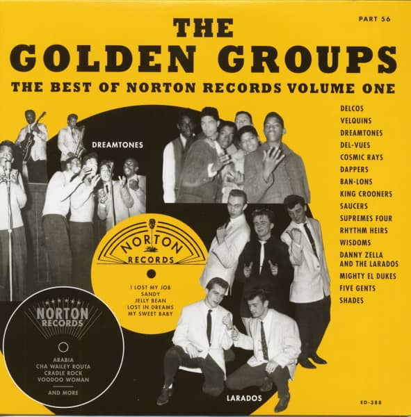 Golden Groups Part 56 - The Best Of Norton Records Vol.1 (LP)