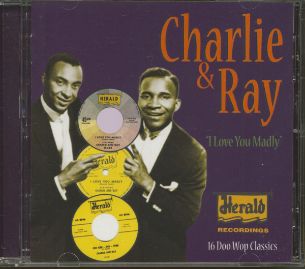 I Love You Madly - The Herald Recordings (CD)