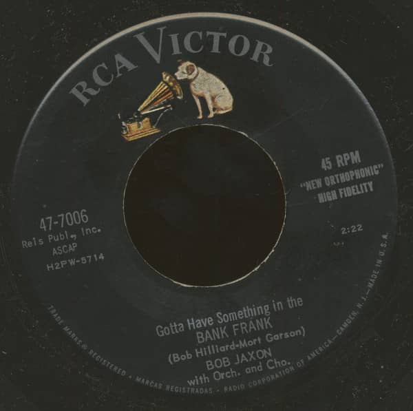 (Gotta Have Something In The) Bank Frank - Come On Down (7inch, 45rpm, BC)