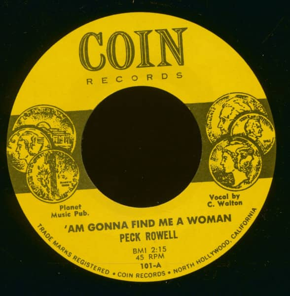 'Am Gonna Find Me A Woman - Take It Easy Greasy (7inch, 45rpm)