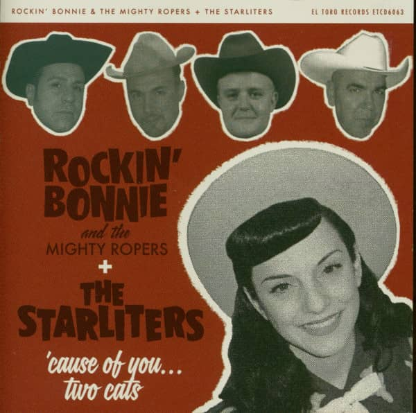 Rockin' Bonnie And The Mighty Ropers vs The Starliters - Mini Album (CD)