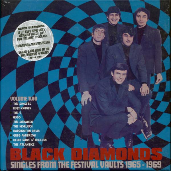 Black Diamonds Vol.2 - Festival Records 1965-1969 (10x7inch, 45rpm, SC)
