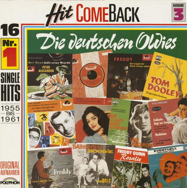 Hit Come Back - Die deutschen Oldies - 3. Ausgabe 1955-1961 (LP)