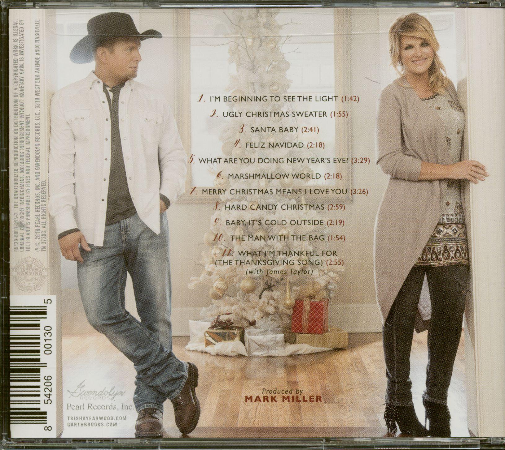 Garth Brooks CD: Christmas Together - Garth Brooks & Trisha Yearwood (CD) - Bear Family Records
