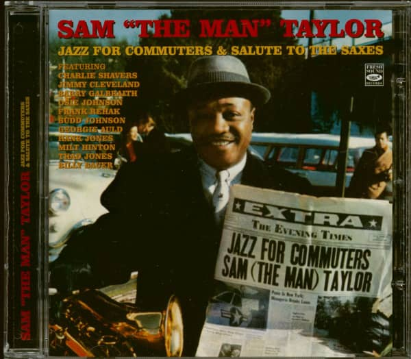 Jazz For Commuters - Salute To The Saxes (CD)