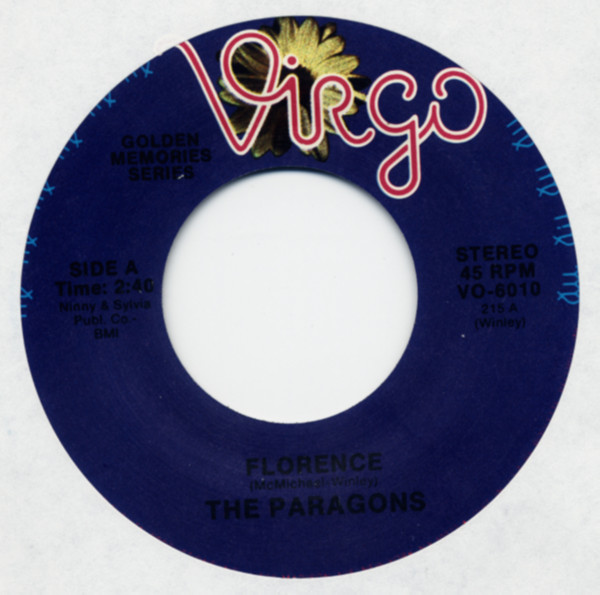Florence b-w Please Let Me Love You 7inch, 45rpm