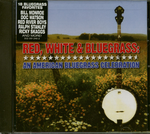 Red, White & Bluegrass - An American Bluegrass Celebration (CD)